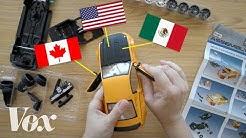 USMCA vs NAFTA, explained with a toy car