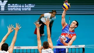 TOP 15 Best Volleyball Spikes by Marko Ivovic