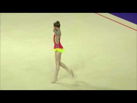 European Rhythmic Gymnastics Championships 2016 - Hannah Martin GBR Rope