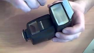 YONGNUO YN465 Speedlite Flash with Stands + Soft P