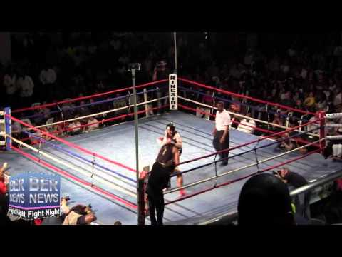 Drew Geoghegan vs Khalid Pitcher At Fight Night, April 5 2014