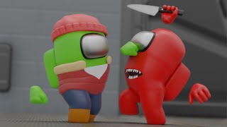 Among Us But The Impostor is a Martial Artist | Among Us Animation