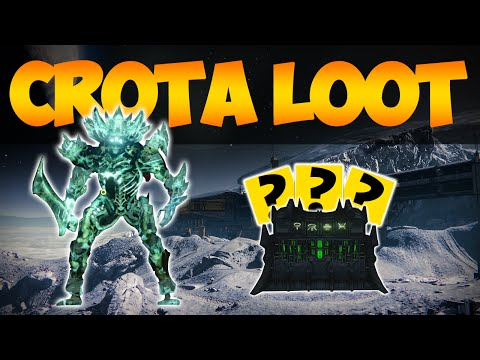 Destiny: My Crota Exotic Loot x3 Characters (POCHBOY GETS GHORN!)