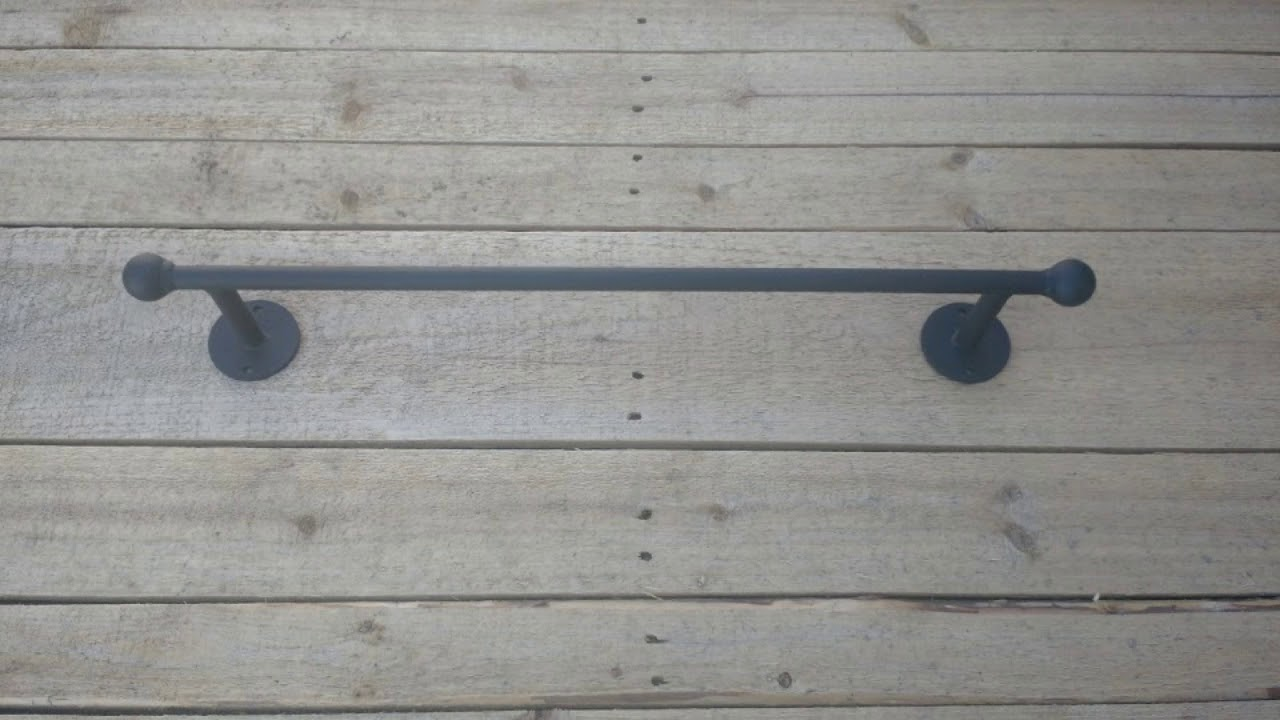 Handmade Wrought Iron Bathroom Decor Towel Bars Hooks And Custom Made Toilet Paper Holders
