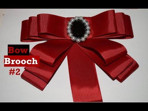 Bow Brooch #2 - Tutorial - DIY - AnabelMonGar