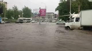 Уфу опять топит. Мужик утонул после дождя в Уфе.