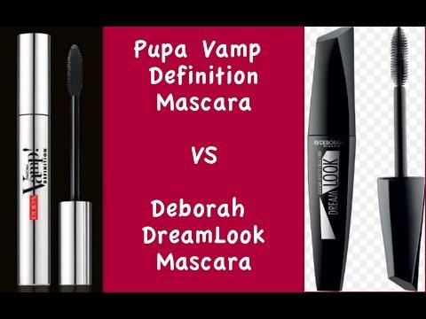 NUOVO PUPA Vamp Definition Mascara VS Deborah DreamLook