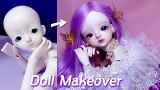 [Doll Repaint] ENG SUB 인형을 신비로…