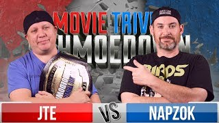 JTE VS Ken Napzok - Movie Trivia Schmoedown