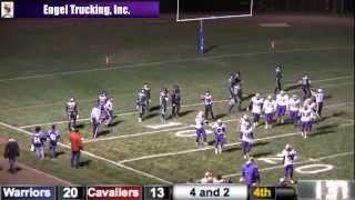 Winner Warriors vs St Thomas More Cavaliers (Football)