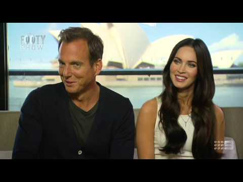 Beau Ryan interviews Megan Fox and Will Arnett