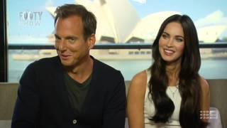 Beau Ryan interviews Megan Fox and Will Arnett