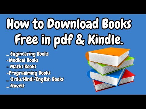 How to Download Books Free in Pdf & Kindle - YouTube