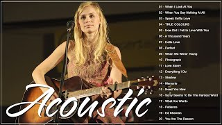 Best English Acoustic Love Songs 2021 - Ballad Guitar Acoustic Music Cover Of Popular Songs All Time