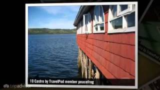"""Disembarking in Puerto Montt, off to Chiloe"" Peacefrog"