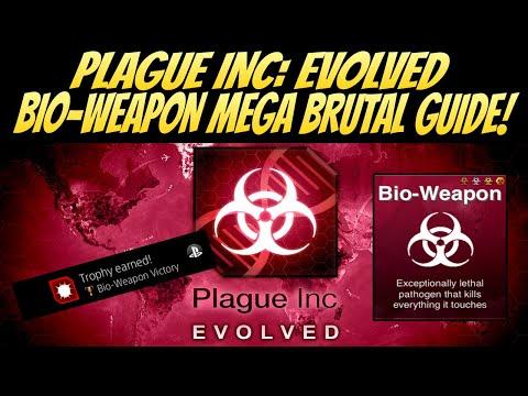 Plague Inc: Evolved Bio Weapon Mega Brutal Guide! BEST METHOD