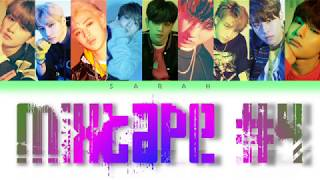 Download lagu STRAY KIDS 스트레이 키즈 MIXTAPE 4 Han Rom Eng Color Coded