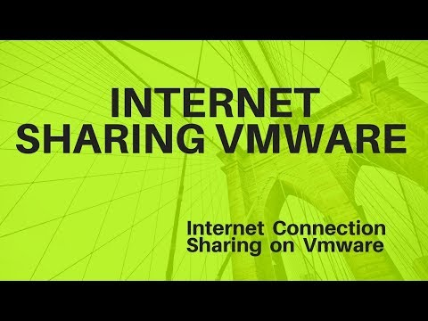 How to  Share Or Enable  Internet Connection With Host in VMWare    LInux