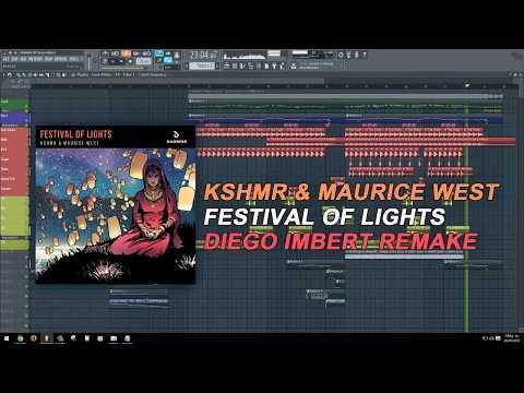 KSHMR & Maurice West - Festival of Lights (Original Mix) (FL Studio Remake + FLP)