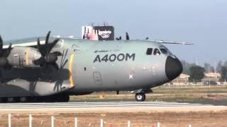 Airbus Airbus A400M Atlas (EC-404) Take Off Sevilla LEZL