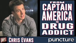 Chris Evans Exclusive Interview for the movies Puncture, Captain America, The Avengers