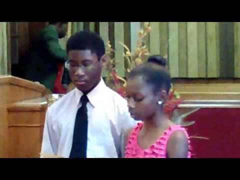 St. Luke Missionary Baptist Church Youth Program 10/13/2013