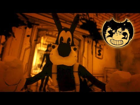 BORIS, SHE'S RIGHT BEHIND YOU!!   Bendy And The Ink Machine Chapter 3 BATIM [#3]