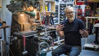 Adam Savage's New Milling Machine!