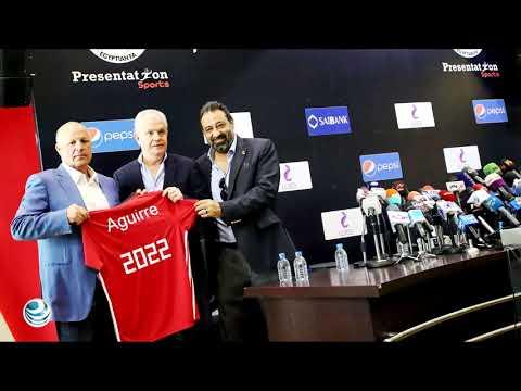 Egipto presenta a Javier Aguirre como su técnico hasta 2022