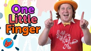 One Little Finger | Kids Songs | Magicio & Friends | Made by Red Cat Reading