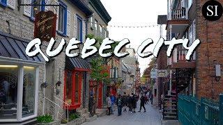 Quebec City   Quebec   Canada   4K