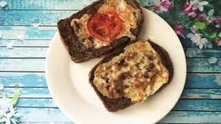 Сэндвич 🥪 Готовим самый быстрый вкусный завтрак. Таңғы ас оңай, тез.