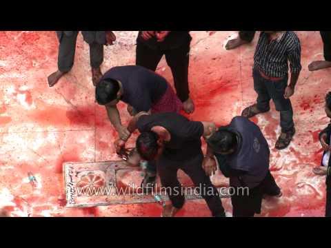 Rituals of bloodshed at Panja Sharif
