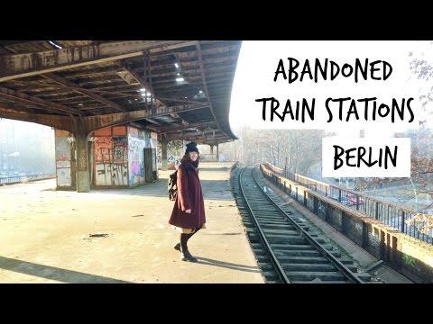 Urban Exploring In Berlin, Abandoned Railway Stations and Traintracks | HiLesley-Ann