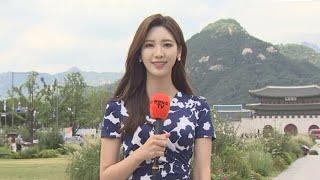 [날씨] 6년 만에 태풍 한반도 관통…목요일 전국 비바람 / 연합뉴스TV (YonhapnewsTV)