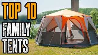 Top 10 Best Laŗge Family Camping Tents On Amazon