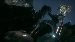 Batman: Arkham Knight - Harley Quinn interrogates a driver (free roam/character swap mod)