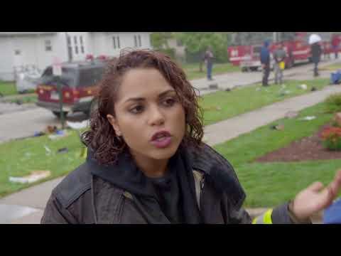Chicago Fire: Sneak Peek Season 3 Episode 8 - Chopper - Interview w/ Monica Raymund