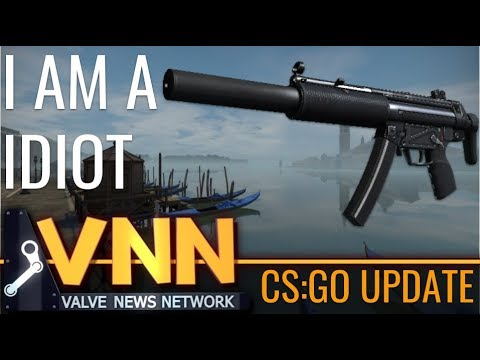 CS:GOs MP5SD is Here & I Am A Idiot