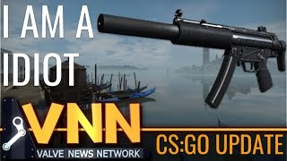 CS:GO's MP5-SD is Here & I Am A Idiot