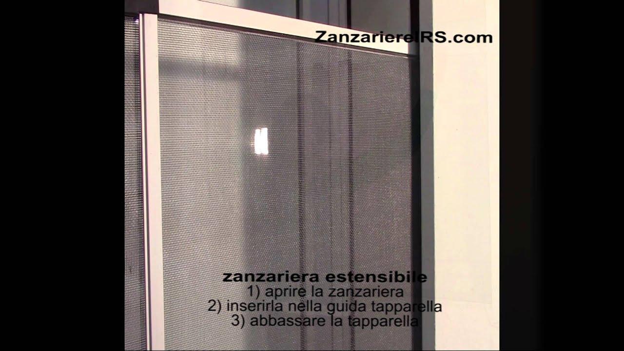Zanzariera estensibile youtube - Zanzariera finestra fai da te ...