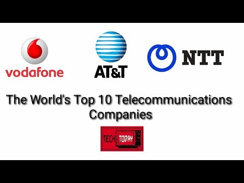 The World's Top 10 Telecommunications Companies