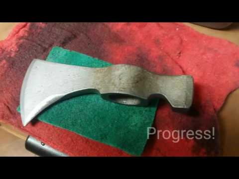 Simple, easy, DIY Axe head clean with Texas based Bo Hulsey from READY GROUP