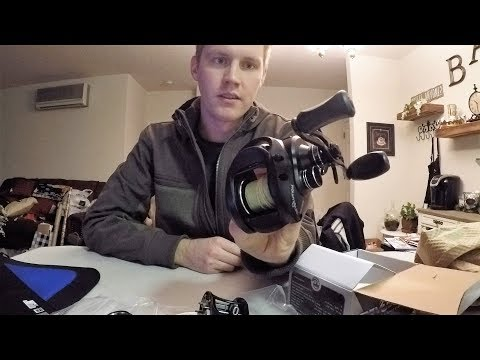 Bass Pro Shops Revolution Baitcasting Reel Unboxing After Repair