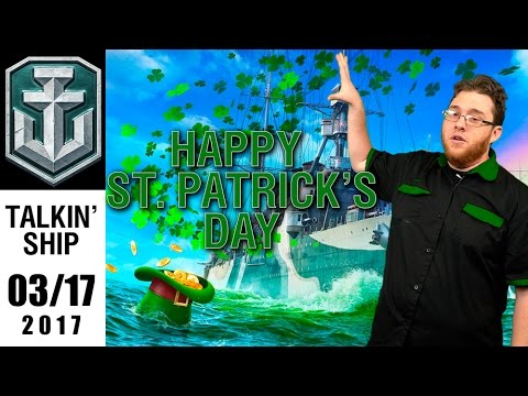 Talkin' Ship - Here on this St Patrick's Day