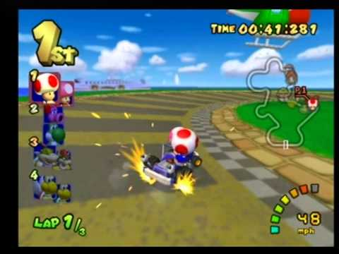 Mario Kart Double Dash - Toad & Toadette - Star Cup 100cc ... - photo#20