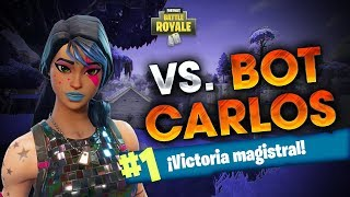 ROJAN vs BOT CARLOS | 17 KILLS WIN | Fortnite Battle Royale
