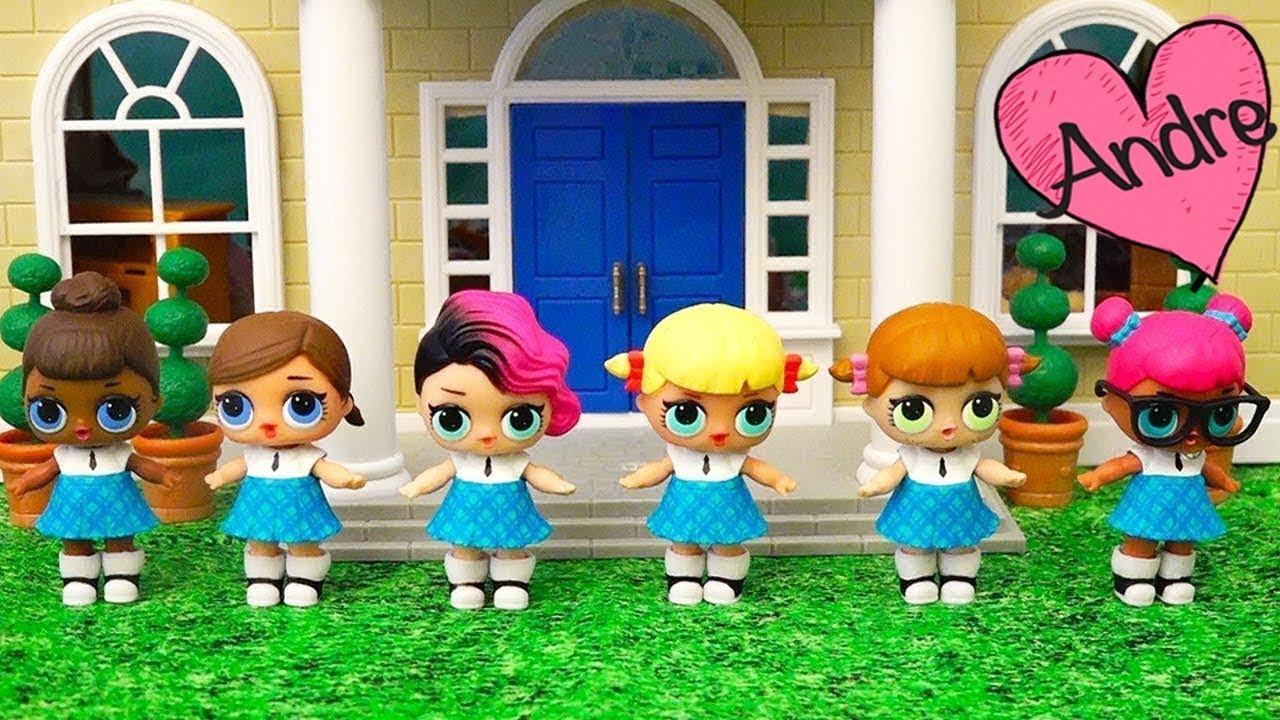 Muñecas Lol Quieren Ser Porristas En La Escuela Juguetes Con