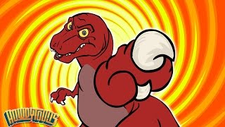 Best T Rex Dinosaur Songs | Dinosaur Battles | Dinosaur Songs for Kids from Howdytoons