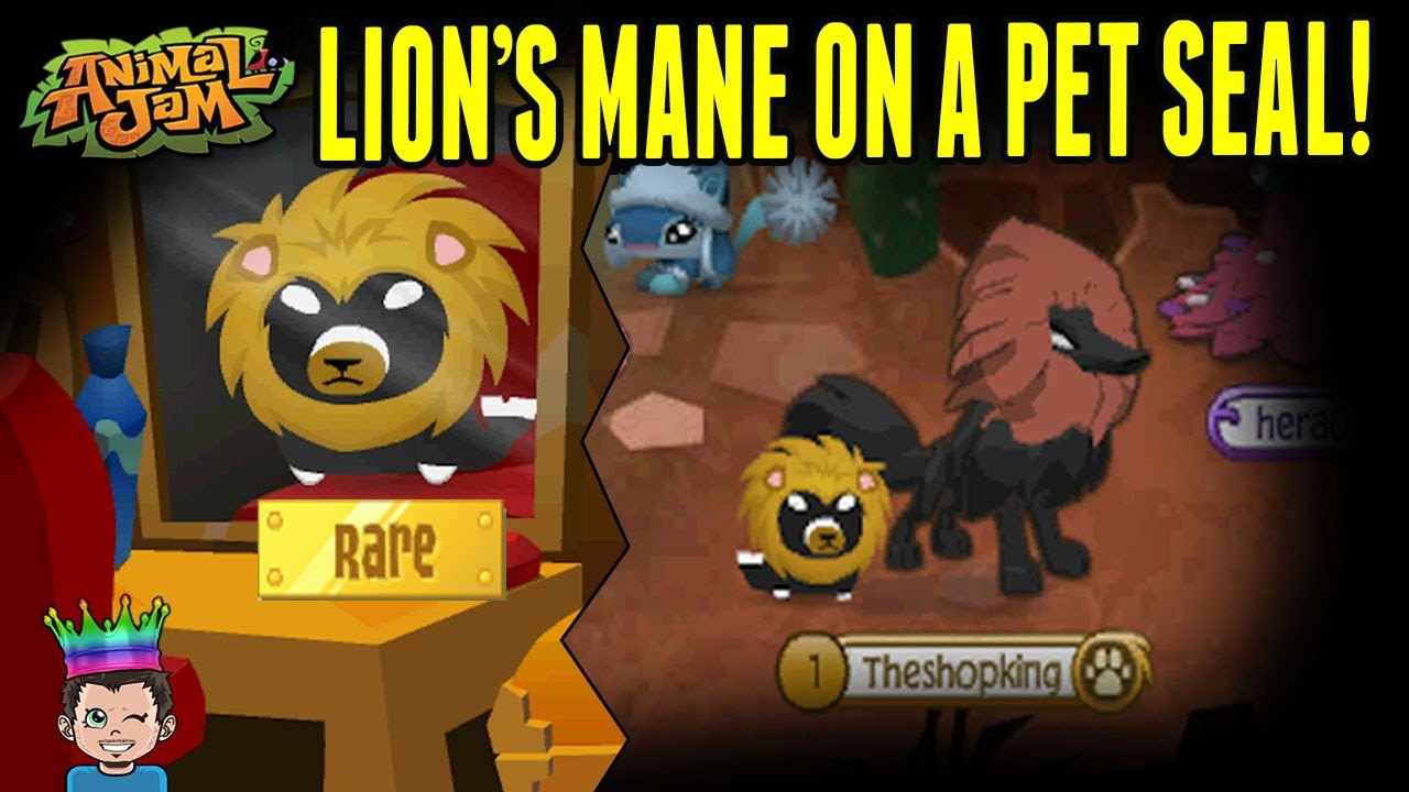 Putting A Lion's Mane On A Rare Promo Pet Seal - Animal ...